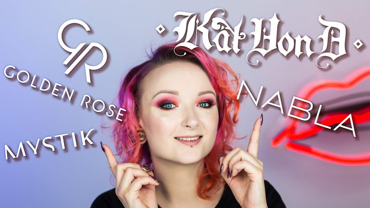 Ulubieńcy listopada ❄️ Kat Von D, Golden Rose, Mystik Warsaw, Nabla ❄️ Red Lipstick Monster ❄️
