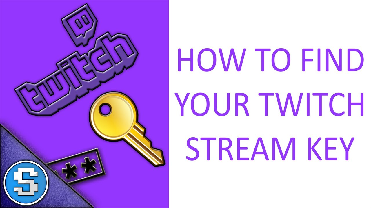 How To Stream To Twitch: How To Find Your Twitch Livestreaming Stream Key For OBS