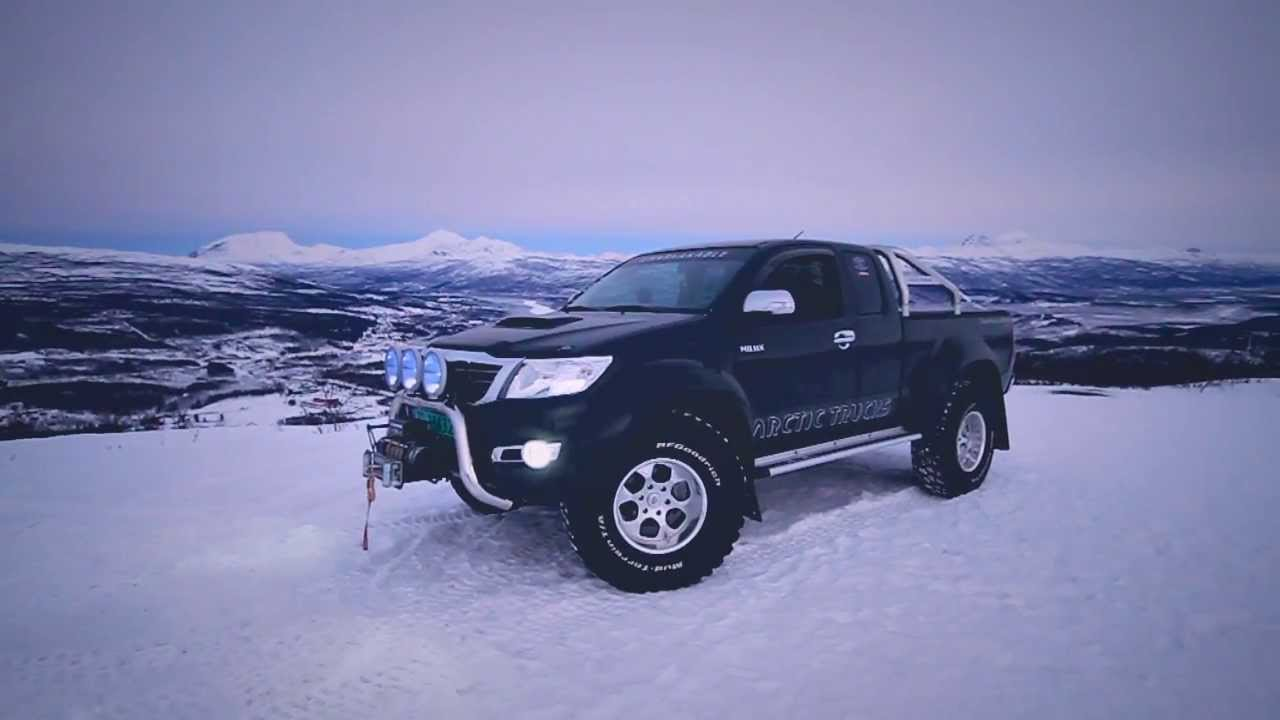 Toyota Hilux At37 Arctic Truck Youtube