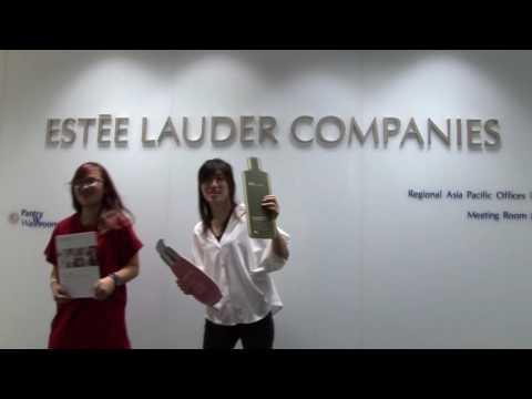 Estée Lauder Companies Intern Team Video