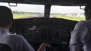 VIRAL Liat Langsung TAKE OFF dari kokpit Pesawat bikin ngeri Taken buki