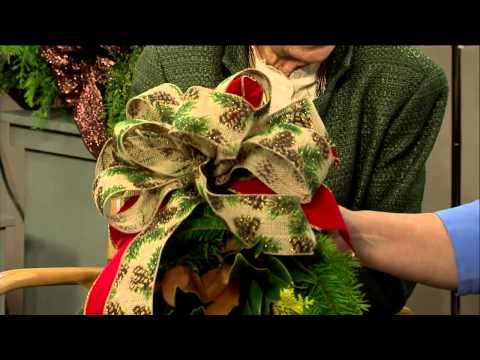 12/13/14 - Decorating with Fresh Greens