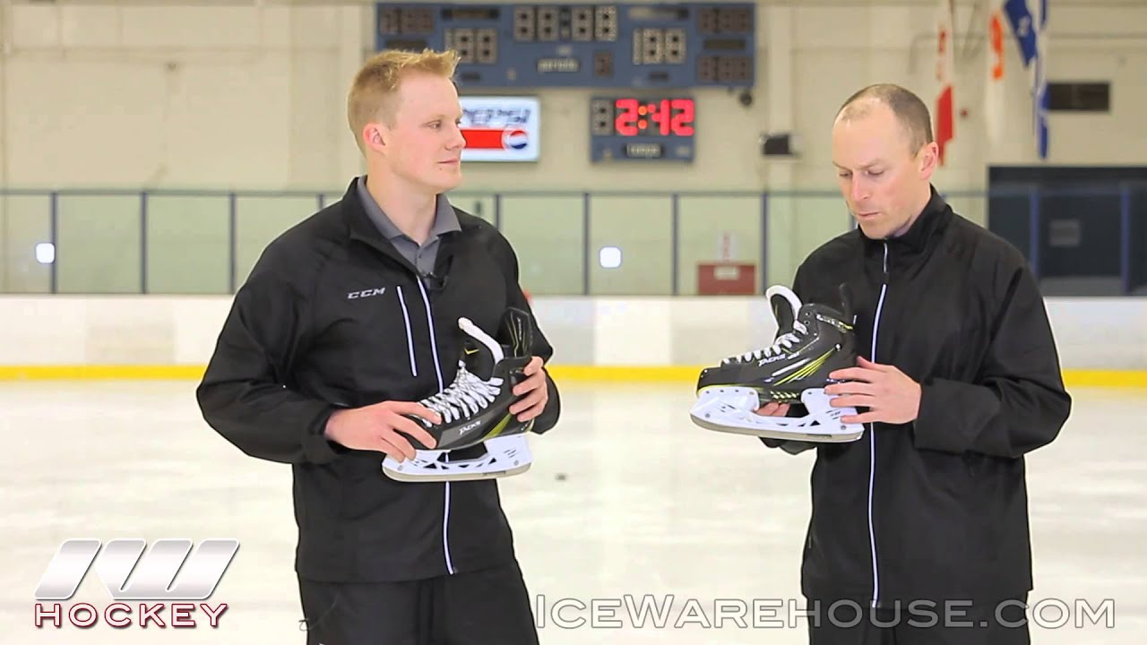 c22d8827cf4 CCM Tacks Ice Hockey Skate Line Insight - YouTube