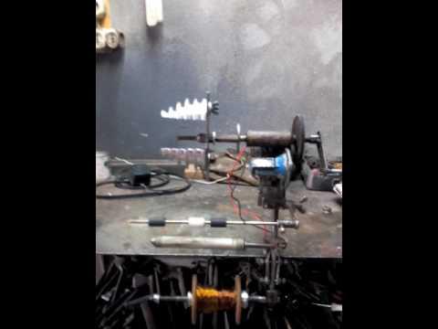 Вопрос: Как перемотать электромотор?