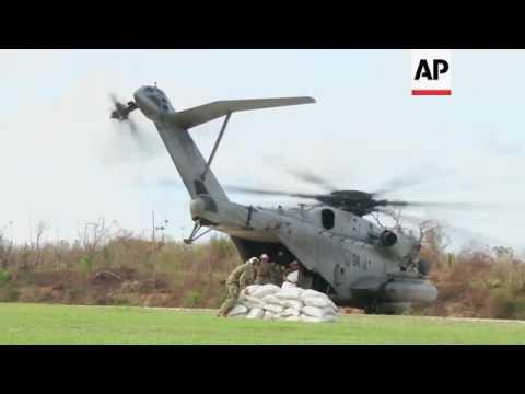 UN food aid arrives in Haiti