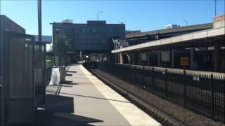 MBTA Commuter Rail: Two Old Colony Line Trains at JFK/UMass
