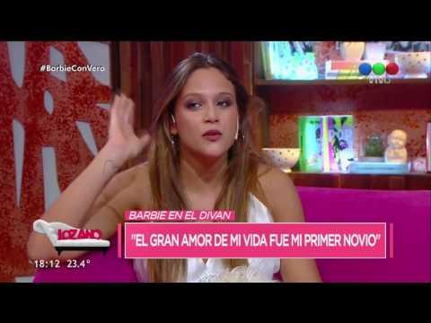 Barbie Vélez confesó quién fue el gran amor de su vida y se puso la careta de Cande Ruggeri