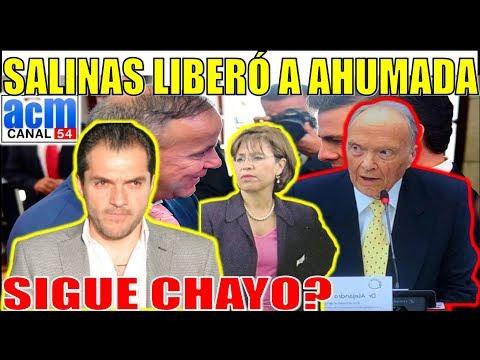 Ahumada fue liberado en Argentina, Se Mueve Salinas