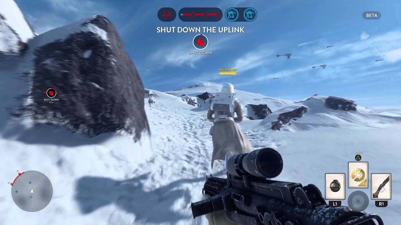 SB Plays: Star Wars: Battlefront Beta