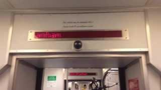 Santa Clara Valley Transportation Authority (VTA) Light Rail Train #943 Problem - SEP 2013