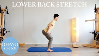 Release the lower back / Daily stretch routine / OHAYO 1min stretch