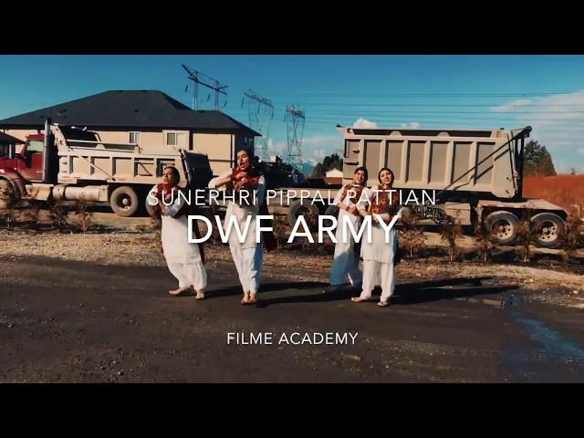 Gidha Battle - Sunehri Pippal Pattian | DWF ARMY