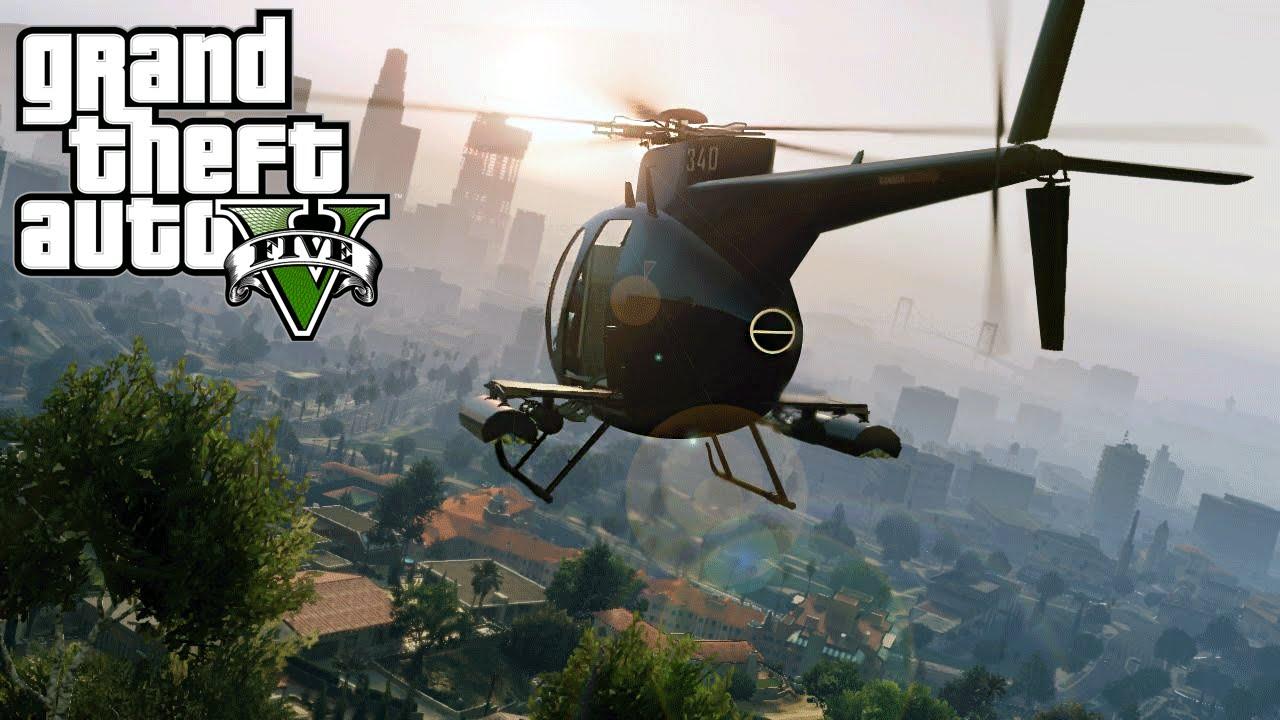 Gta V Helikopter