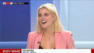Ashley James on Sky News 30 5 18