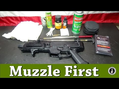 Cleaning and Lubricating the CZ Scorpion EVO 3 S1