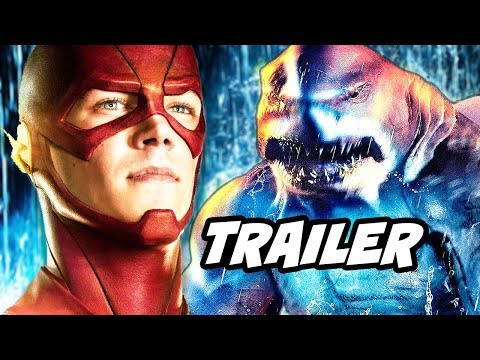 The Flash Season 5 Episode 15 Trailer - King Shark vs Grodd and Reverse Flash Breakdown