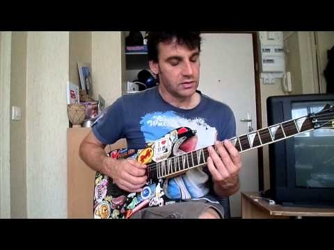 Skunk Anansie - Hedonism how to play tuto guitare YouTube En Français