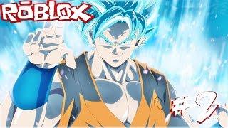 "ROBLOX Anime Cross - Part 2:""Goku The Super Saiyan Blue"""