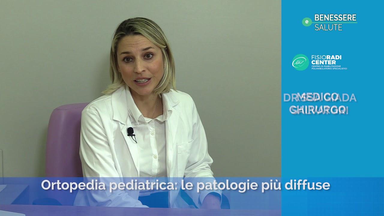 Ortopedia Pediatrica Le Patologie Piu Diffuse Dr Giada Salvadori Benessere E Salute 2020 Puntata 4 Youtube