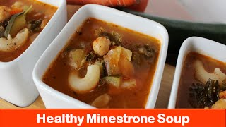 Healthy minestrone soup recipe/Low calorie weight loss vegetable soups recipe/PPC XL-let's be foodie