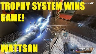 APEX LEGENDS  - WATTSON Trophy System gets me the win! Apex Season 2 New legend!