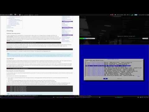 Full Gentoo Install Tutorial - pt.1 - Gentoo Base Install