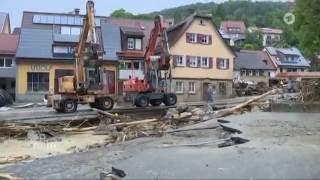 Unwetter-Albtraum in Braunsbach - Baden-Württemberg
