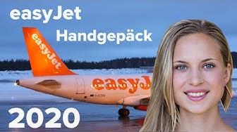 easyJet Handgepäck 2020: Was noch mit darf und worauf Sie 8 geben müssen!