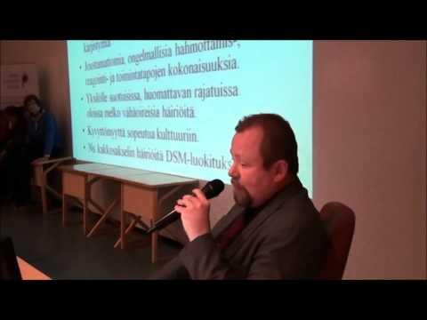 Hannu Lauerma - Yleisoluento - Pahuus, hulluus ja psykopatia