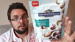 Ghirardelli Chocolate Covered Salted Cashews Review