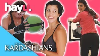 Lets Get Physical With The Kardashians! | Keeping Up With The Kardashians