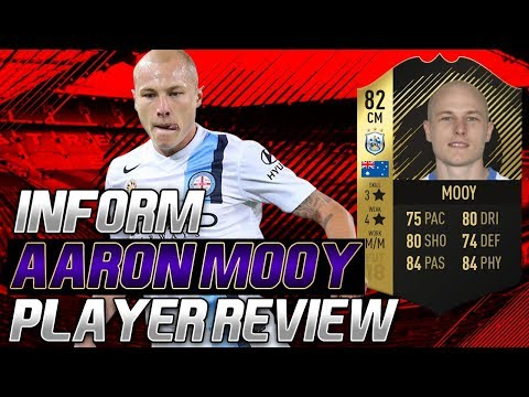 INFORM AARON MOOY (82) PLAYER REVIEW! FIFA 18 ULTIMATE TEAM