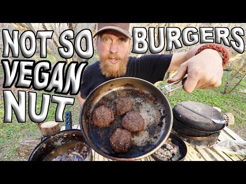 how-to-make-bushcraft-acorn-flour-bread-biscuits-/-day-28-of-30-day-survival-challenge-texas