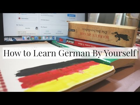 How to Learn German By Yourself   Everything Janis