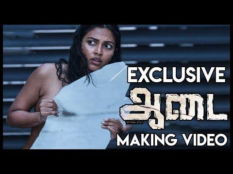 BEHIND THE SCENES: Amala Paul In Aadai | Exclusive Making Video | Rathna Kumar