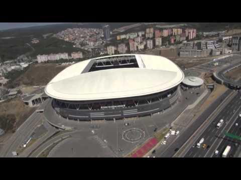 Galatasaray Türk Telekom Arena Havadan Çekim
