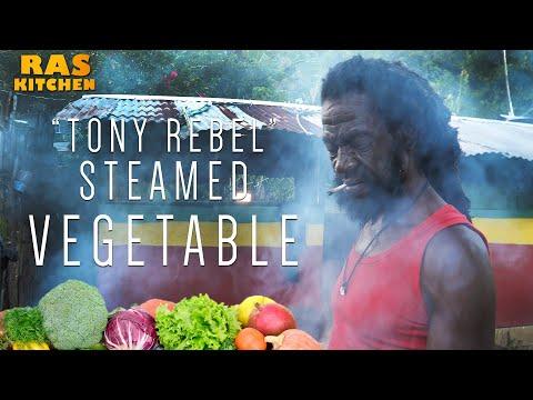 """""""Tony Rebel"""" Steamed Vegetable, Rasta Style!"""