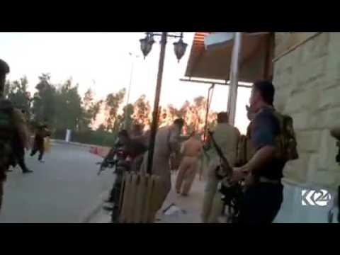 Real fighting in Iraq with gun's  حرب شوارع حقيقه