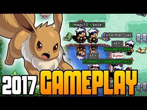 Pokemon World Online 2017 Gameplay