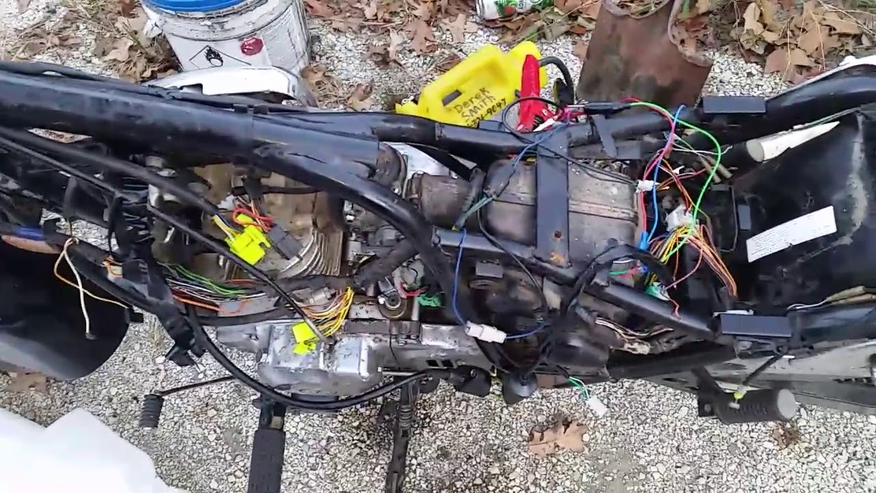 2007 Suzuki Gz250 Wiring Diagram Electrical Diagrams T500 Running On Pit Bike Cdi Youtube Gn400