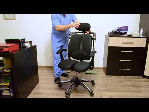 Обзор кресла Hara Chair Nietzsche (Cobra T) производство Южная Корея