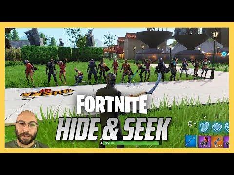 Fortnite Hide and Seek on my Creative map!