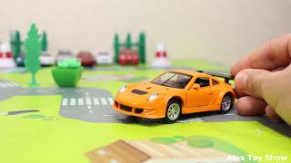 Машинки мультфильм - Мир машинок - 162 серия: Автовоз, Авария. Развивающий мультик для детей.