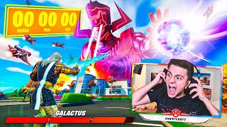 EL EVENTO FINAL DE GALACTUS EN FORTNITE | Ampeterby7