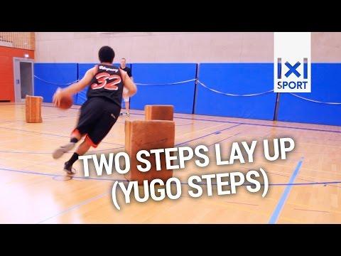 Basketball Guard Skills & Drills: Two Step Lay Up