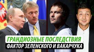 Грандиозные последствия для Кремля. Фактор Зеленского и Вакарчука