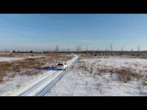Тест-драйв Mitsubishi Pajero Sport. Видео с квадрокоптера