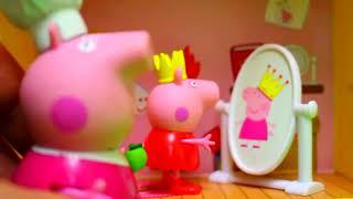 Мультфильм игрушками свинка Пеппа Peppa Сказки Страшилки