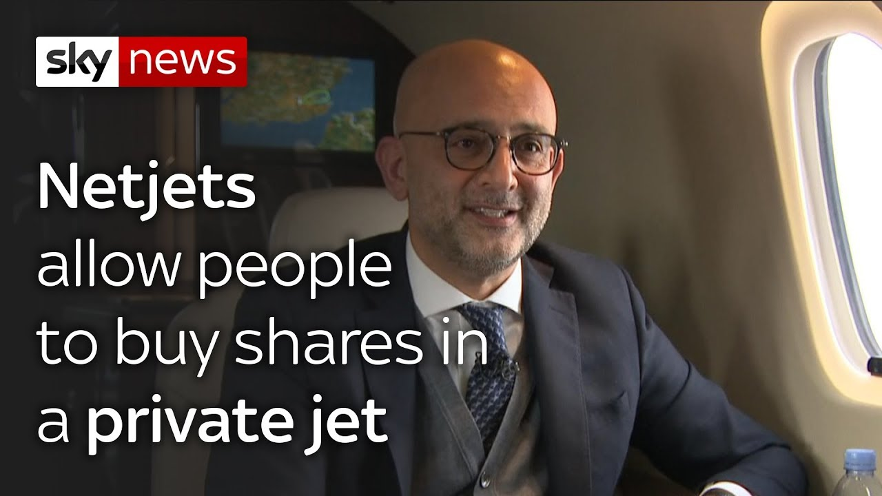 Netjets Chief Executive: why pets of the rich love private jets