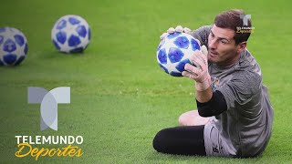 Iker Casillas rompe racha histórica de Ryan Giggs | UEFA Champions League | Telemundo Deportes